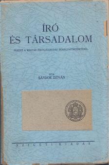 Sándor István - Író és társadalom [antikvár]