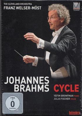 BRAHMS JOHANNES - JOHANNES BRAHMS CYCLE,3 DVD