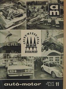 Kollányi Gyula - Autó-Motor 1973. június 6. [antikvár]