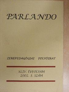 Laczó Zoltán - Parlando 2002/3. [antikvár]