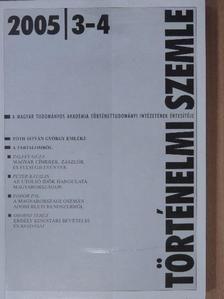 Fodor Pál - Történelmi Szemle 2005/3-4. [antikvár]