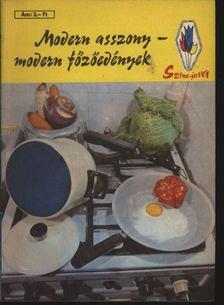 Modern asszony - modern főzőedények [antikvár]