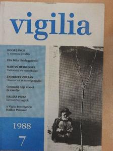 Boór János - Vigilia 1988. július [antikvár]