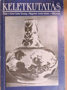Berta Árpád - Keletkutatás 1988. tavasz [antikvár]