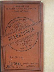 Rakodczay Pál - Dramaturgia [antikvár]