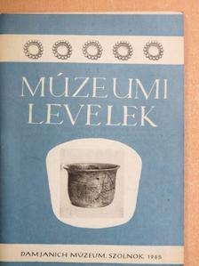 Csalog Zsolt - Múzeumi levelek 7-8. [antikvár]