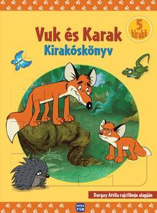 Dargay Attila - Vuk és Karak puzzle könyv