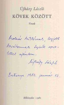Újházy László - Kövek között (dedikált) [antikvár]