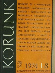 Aszódy János - Korunk 1974. augusztus [antikvár]