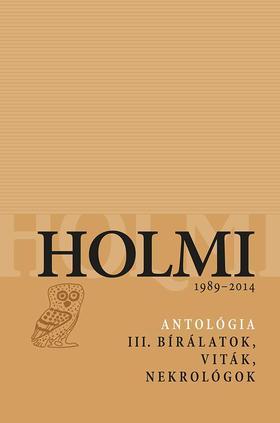 .- - Holmi-antológia 3.
