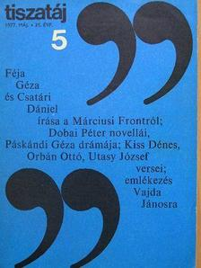 A. Nagy László - Tiszatáj 1977. május [antikvár]
