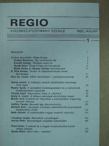 Arany A. László - Regio 1990. január [antikvár]