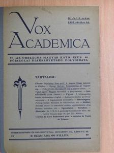 Balanyi György - Vox Academica 1927. október [antikvár]