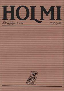 Réz Pál - HOLMI 2002. április [antikvár]