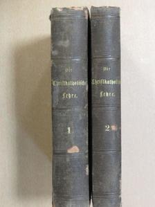 Handbuch Katechismus der christkatholischen Lehre I-II. (gótbetűs) [antikvár]