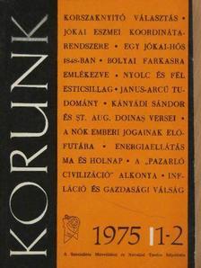 Ágh Attila - Korunk 1975/1-10. (nem teljes évfolyam) [antikvár]