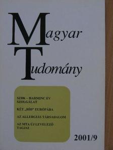 Bodri Ferenc - Magyar Tudomány 2001. szeptember [antikvár]