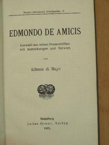Edmondo De Amicis - Edmondo de Amicis [antikvár]