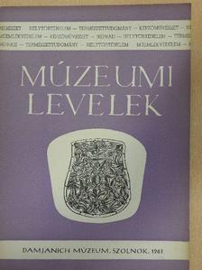 Csalog Zsolt - Múzeumi levelek 4. [antikvár]