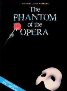 WEBBER, - THE PHANTOM OF THE OPERA. PIANO / VOCAL / GUITAR NEW EDITION