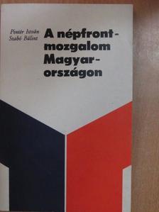 Pintér István - A népfrontmozgalom Magyarországon [antikvár]