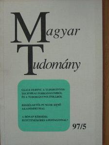 Boros János - Magyar Tudomány 1997. május [antikvár]