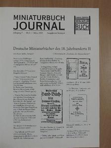 Raoul Fischer - Miniaturbuch Journal 2000/1-4. [antikvár]