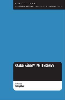 Szabó Károly emlékkönyv
