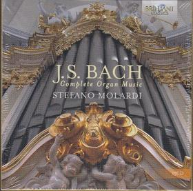 Bach - COMPLETE ORGAN MUSIC 15CD STEFANO MOLARDI