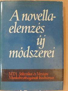 Baránszky-Jób László - A novellaelemzés új módszerei [antikvár]