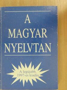 A magyar nyelvtan [antikvár]