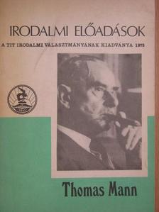 Pók Lajos - Thomas Mann három regénye [antikvár]