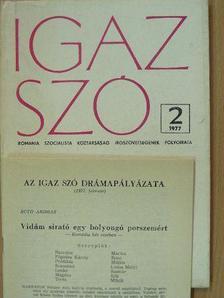 A. E. Baconsky - Igaz Szó 1977. február [antikvár]