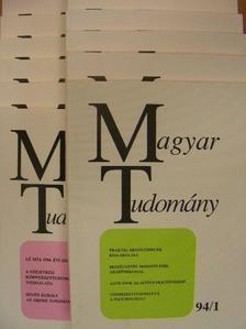 A. Anzerbacher - Magyar Tudomány 1994. január-december [antikvár]