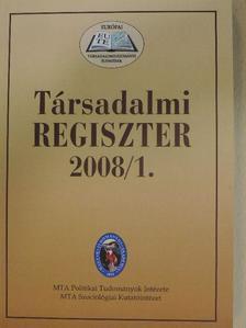 Bódi Ferenc - Társadalmi Regiszter 2008/1-2. [antikvár]