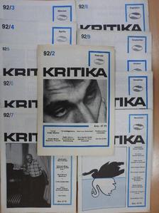 Berend T. Iván - Kritika 1992. (nem teljes évfolyam) [antikvár]