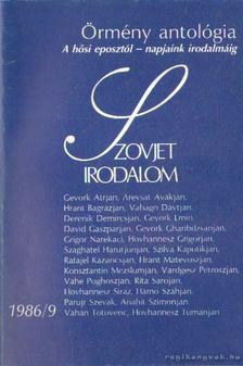 Király István - Szovjet Irodalom 1986/9 [antikvár]