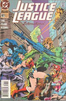 Jones, Gerard, Williams, Anthony - Justice League International 67. [antikvár]