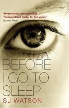 S. J. Watson - Before I Go to Sleep [antikvár]