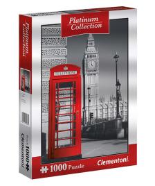 Clementoni Puzzle 1000 Platinum: London