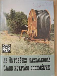 Almási Zoltán - Az öntözéses gazdálkodás újabb kutatási eredményei [antikvár]