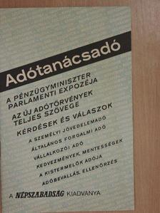 Antal Anikó - Adótanácsadó [antikvár]