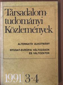 Bence György - Társadalomtudományi Közlemények 1991/3-4. [antikvár]
