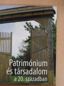 Czövek Judit - Patrimónium és társadalom a 20. században [antikvár]