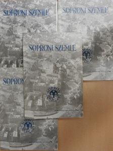Horváth Zoltán György - Soproni szemle 1977/1-4. [antikvár]