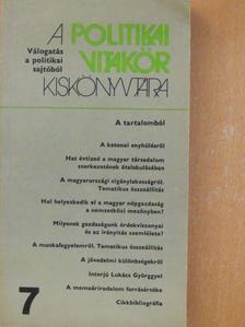 Andrássy Mária - A politikai vitakör kiskönyvtára 7. [antikvár]