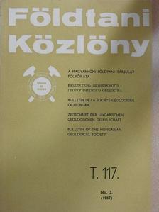 Budai Tamás - Földtani Közlöny 1987/2. [antikvár]