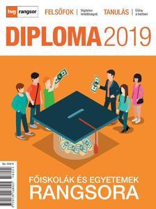 Diploma 2019 - Főiskolák és egyetemek rangsora
