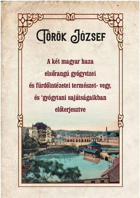 Török József - A két magyar haza elsőrangú gyógyvizei és fürdőintézetei természet- vegy, és gyógytani sajátságaikban előterjesztve