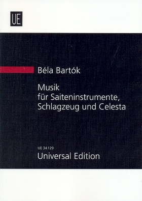 Bartók Béla - MUSIK FÜR SAITENINSTRUMENTE, SCHLAGZEUG UND CELESTA (1936) STUDIENPARTITUR